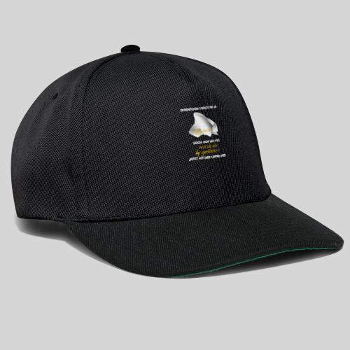 eigentlich wollte ich ja putzen originelle Ausrede - Snapback Cap