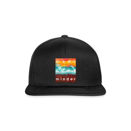 mehr oder minder 1 - Snapback Cap