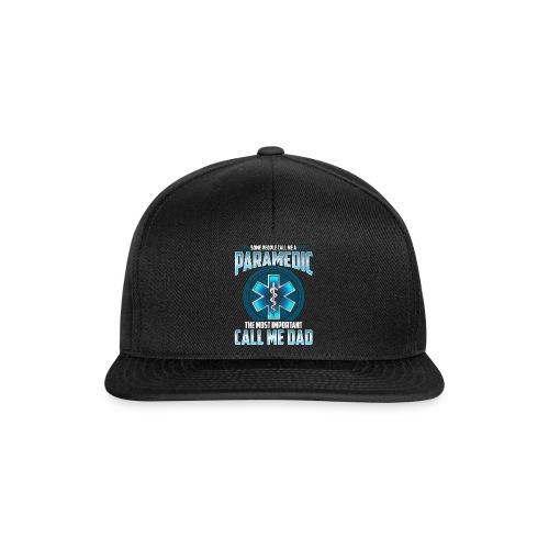 Paramedic Dad Shirt - Snapback Cap