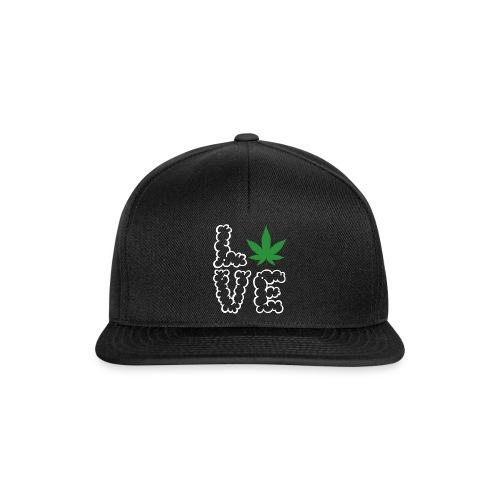 Love Weed - Snapback Cap