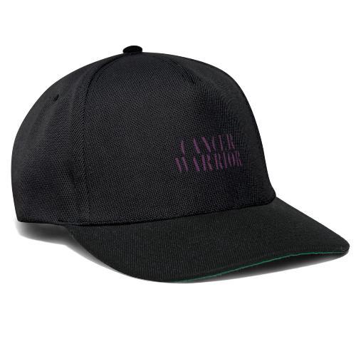 Cancer Warrior - kanker strijder - Snapback cap