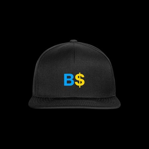 B$ - Snapback Cap