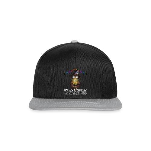Quarantine Birthday   Monkey Social Distance - Snapback Cap