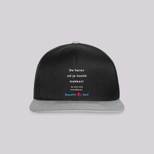 De haren uit je hoofd trekken w - Snapback cap