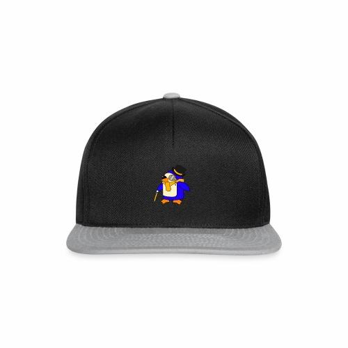 Cute Posh Sunny Yellow Penguin - Snapback Cap