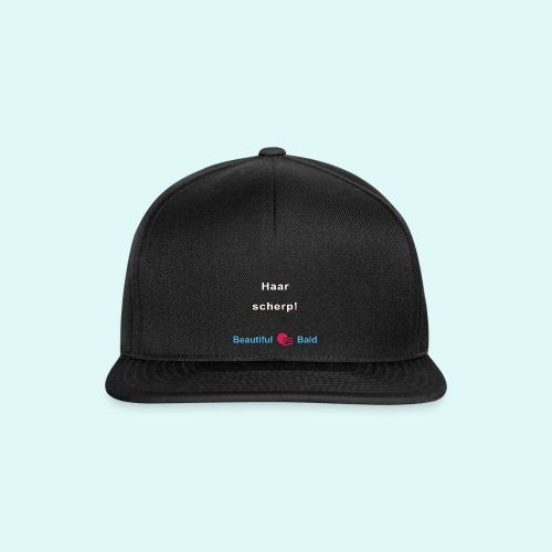 Haarscherp-w - Snapback cap