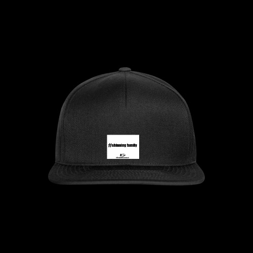 shinning family - Casquette snapback