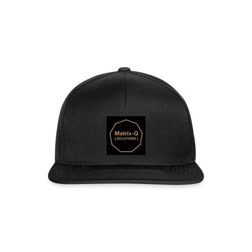 Matrix Q Solutions - Snapback Cap