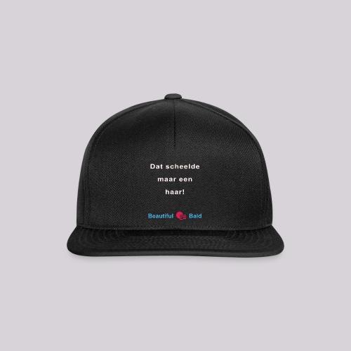 Dat scheelde maar een haar-w - Snapback cap