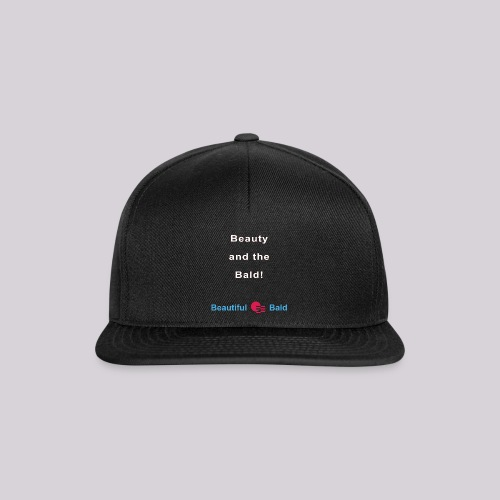 Beauty and the bald-w - Snapback cap