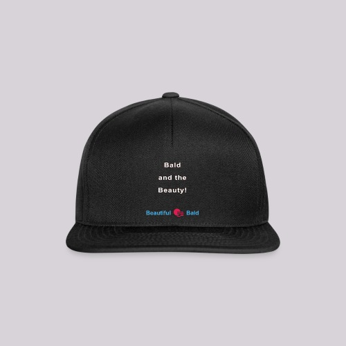 Bald and the Beauty w - Snapback cap