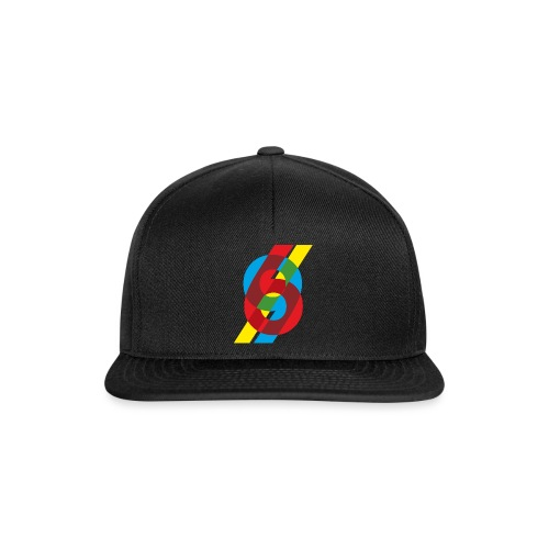 colorful numbers - Snapback Cap