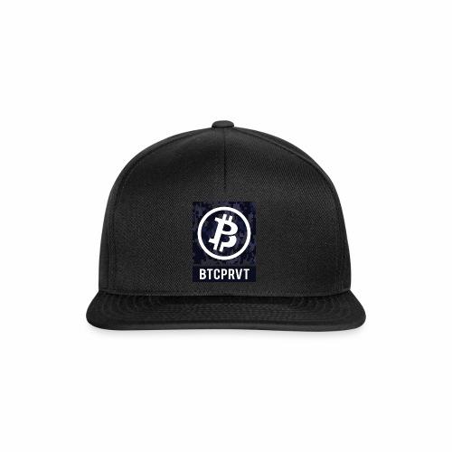 BTCPRVT Digital Camo Merchandise - Snapback Cap