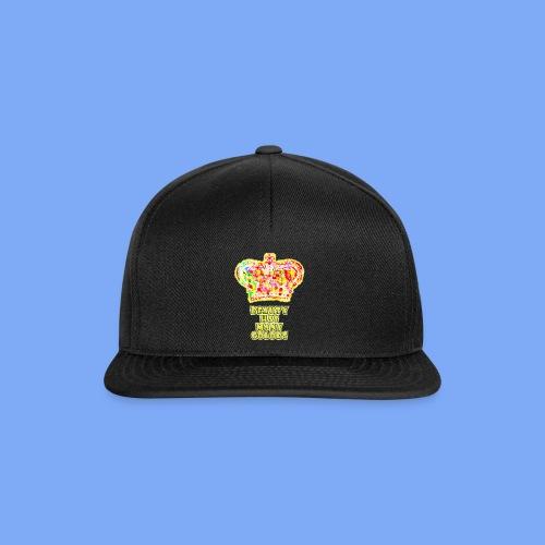 Schönheit hat viele Farben - Snapback Cap