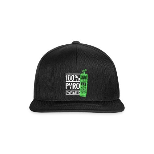Pyro Feuerwerk Grün - Snapback Cap