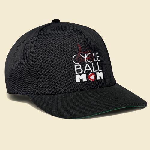 Radball | Cycle Ball Mom - Snapback Cap