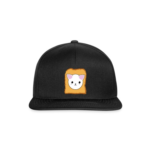 Toast Cat - Snapback Cap