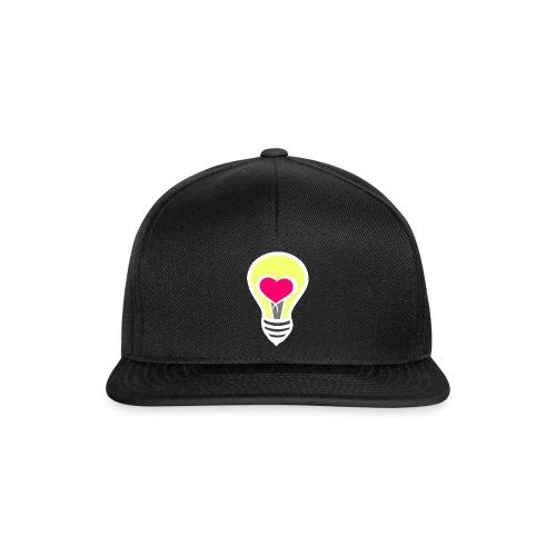 Liebesglühbirne - Snapback Cap