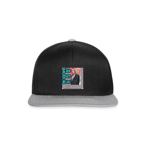 GeekOut Vlogs NES logo - Snapback Cap