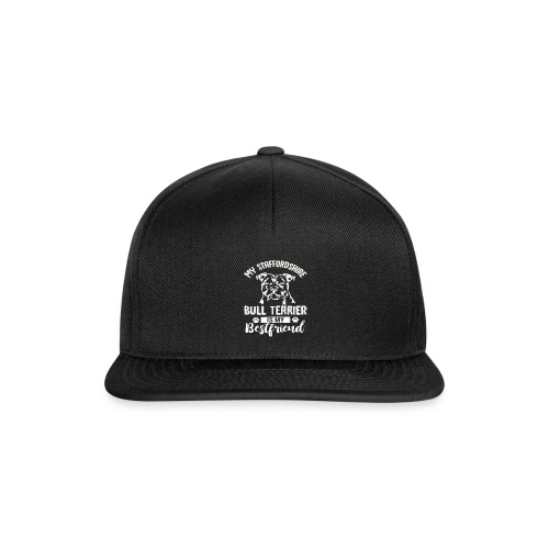 STAFFORSHIR- BULLTERRIER-BEST-FRIEND - Snapback Cap