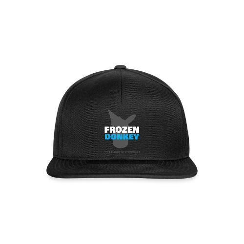 FrozenDonkey Logo Grey - Snapback Cap