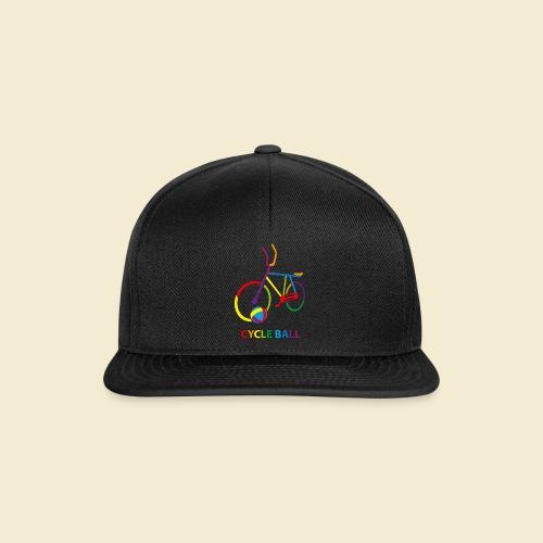 Radball | Cycle Ball Rainbow - Snapback Cap