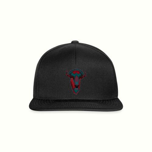 Bison - Red & BlueGray - Snapbackkeps