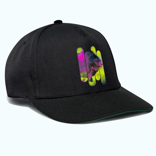 Neon colors fish - Snapback Cap