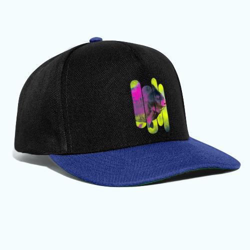 Neon colors fish - Snapback Cap