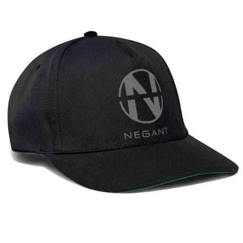 Grey Negant logo - Snapback Cap