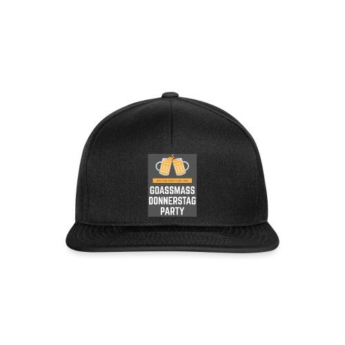 Goassmassdonnerstag Party - Snapback Cap