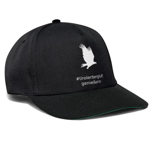 #tirolerbergluft genießerin - Snapback Cap