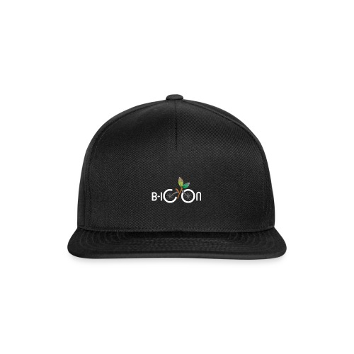 B-Icon Logo (Dark Colored Items) - Snapback cap