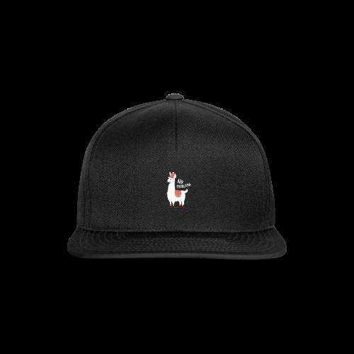 No ProbLama - Snapback Cap