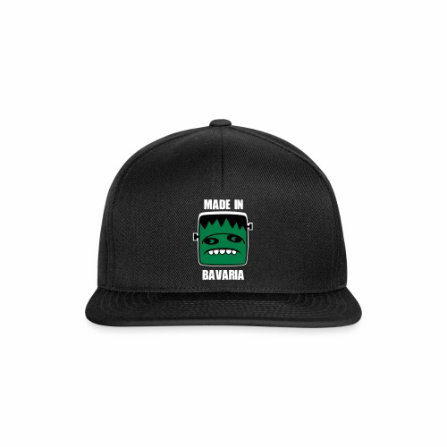 Fonster weiß made in Bavaria - Snapback Cap
