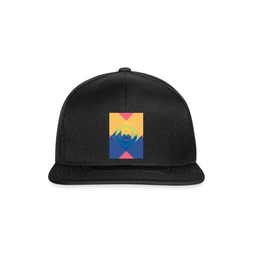 square and shadow - Snapback Cap