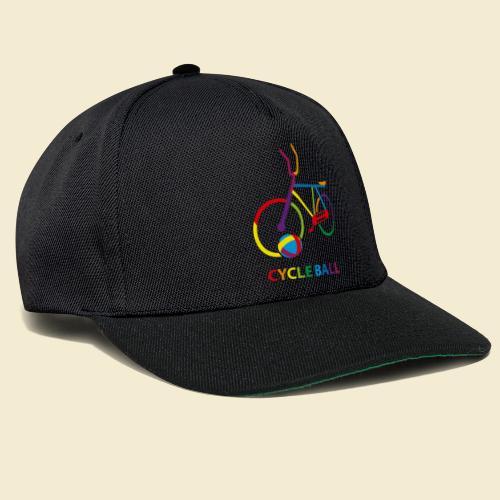 Radball   Cycle Ball Rainbow - Snapback Cap