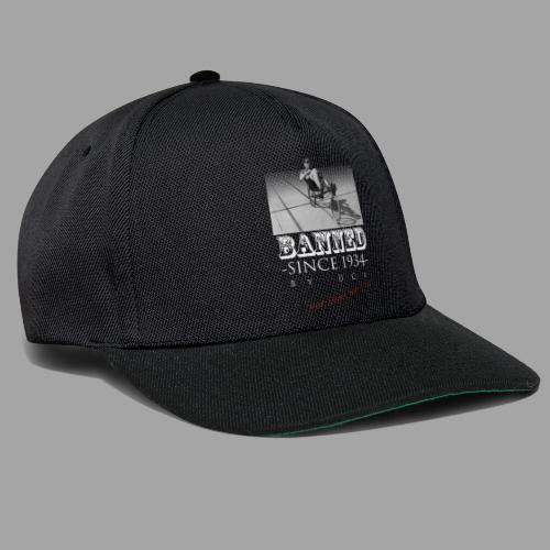Recumbent Bike Banned since 1934 - Snapback Cap