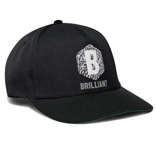 B brilliant grey - Snapback cap