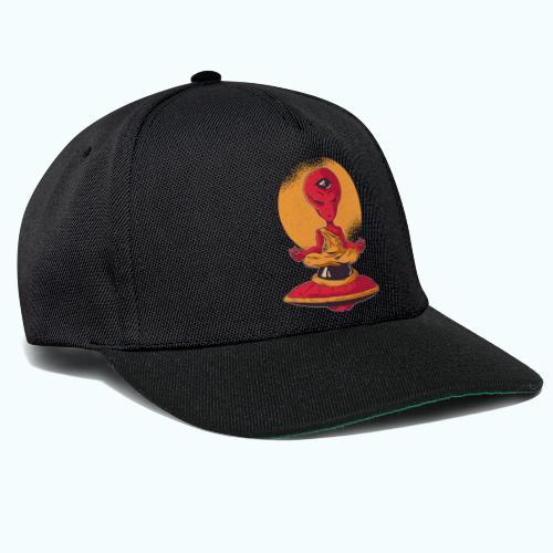 Alien meditation - Snapback Cap