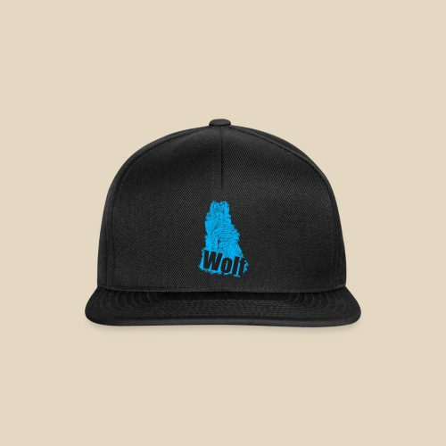 Blue Wolf - Casquette snapback
