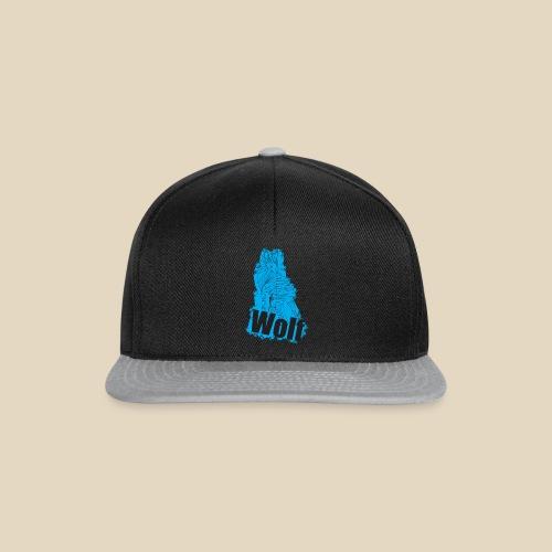 Blue Wolf - Casquette snapback