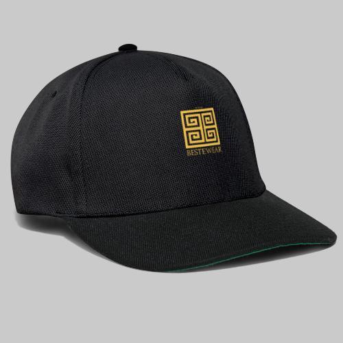 #Bestewear - Golden Snake - Snapback Cap