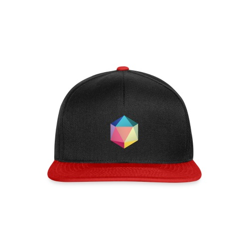 Colourfull d20 - D&D Dungeons and dragons dnd - Snapback Cap