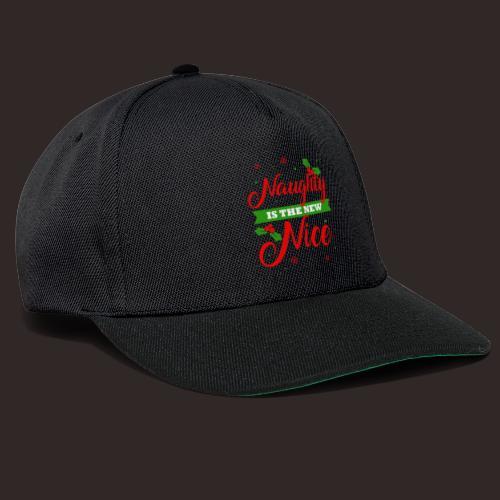 Weihnachten | unartig artig nett - Snapback Cap
