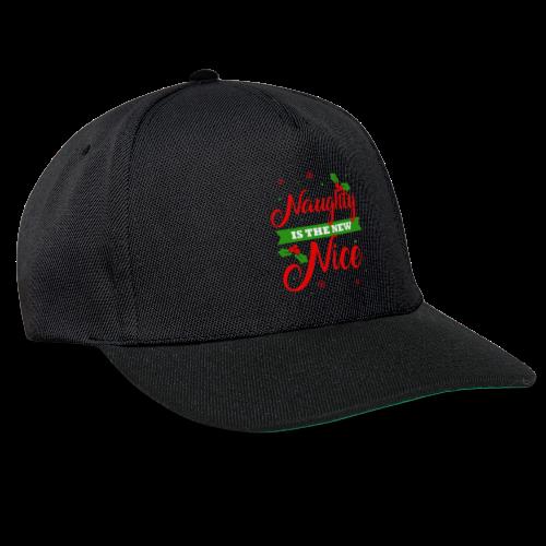 Weihnachten   unartig artig nett - Snapback Cap