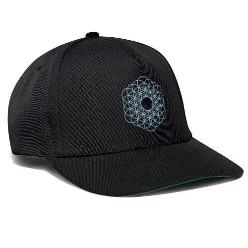 Blume des Lebens Ornament - Snapback Cap