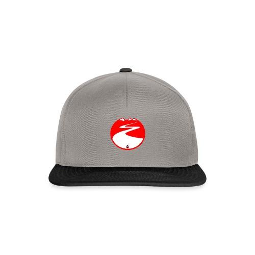 Montagne rouge - Casquette snapback