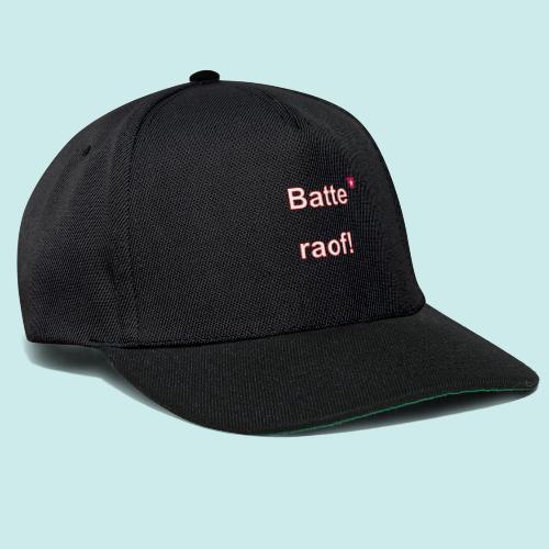 Batteraof vert w - Snapback cap