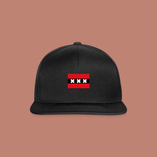Amsterdam Capital Flag - Snapback cap